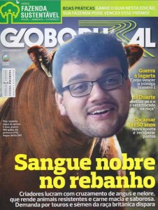 Pino capa de Globo Rural