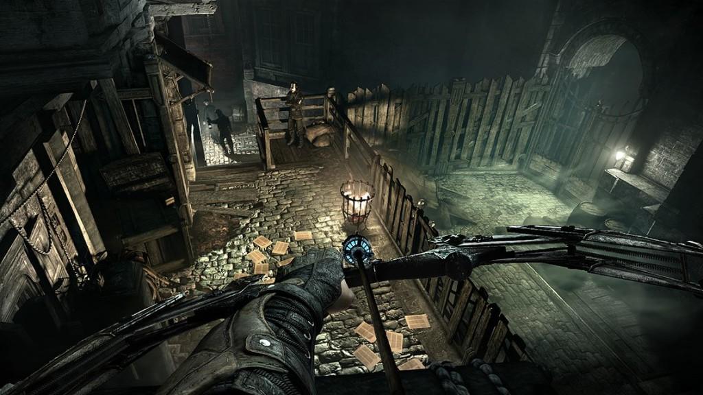 Uso de arco em flecha em Thief é essencial e super divertido. Imagem:www.gamesradar.com